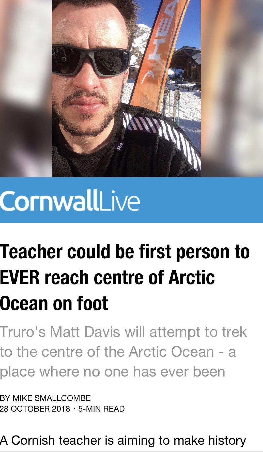 Matthew Davis last pole